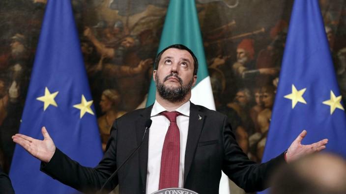 Matteo Salvini, Innenminister von Italien