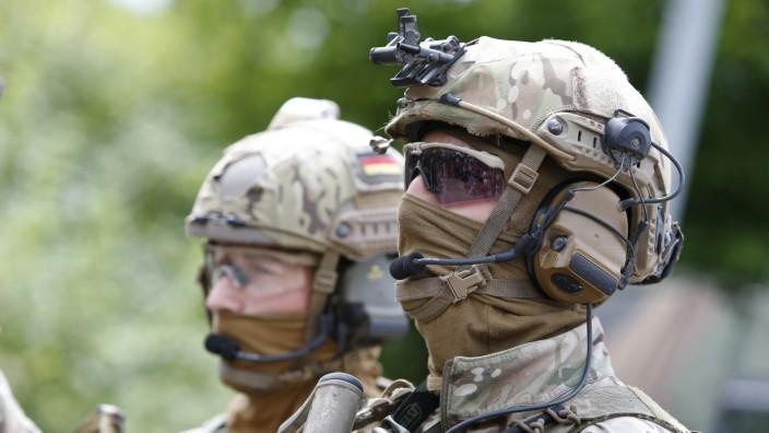 Bundeswehr - Mitglieder der Eliteeinheit KSK