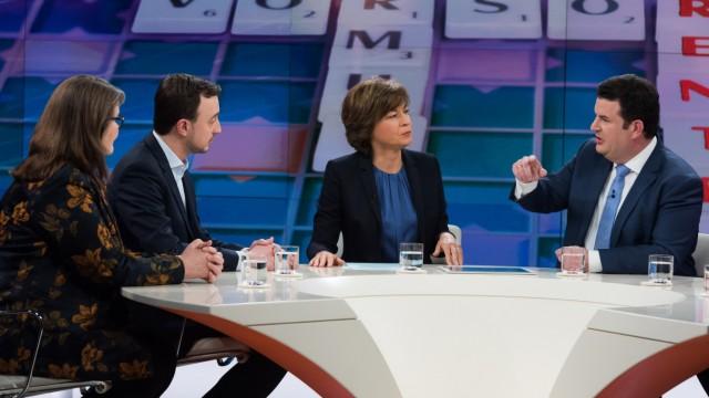 """Sendung """"Maybrit Illner"""" zur Grundrente im ZDF"""