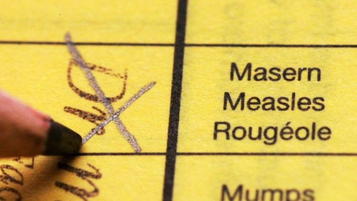 Impfung gegen Masern