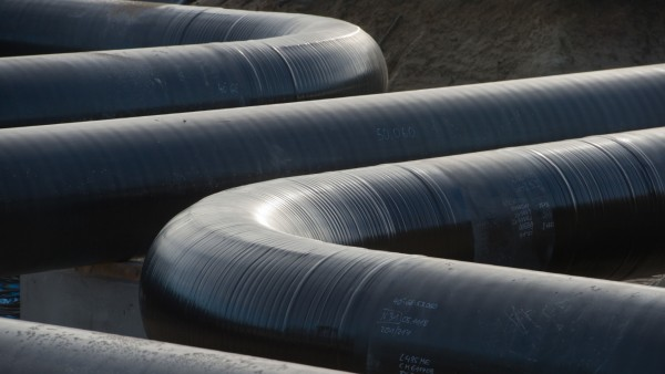Ferngasleitung ·Eugal· - Übernahmestation Lubmin