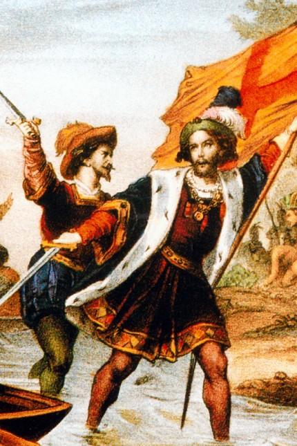 Christoph Kolumbus landet in Amerika, 1492