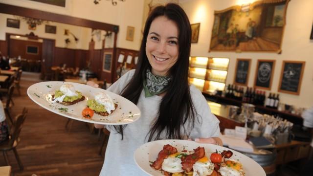 Cafés in München Frühstück im Hohenwart