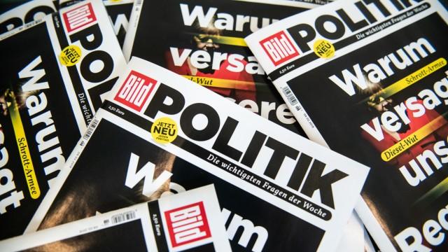 Pressegespräch zum Start von 'Bild Politik'