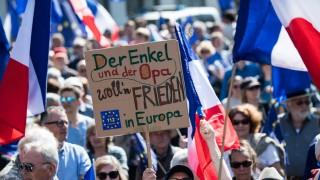 Kundgebung - 'Pulse of Europe' in Frankfurt