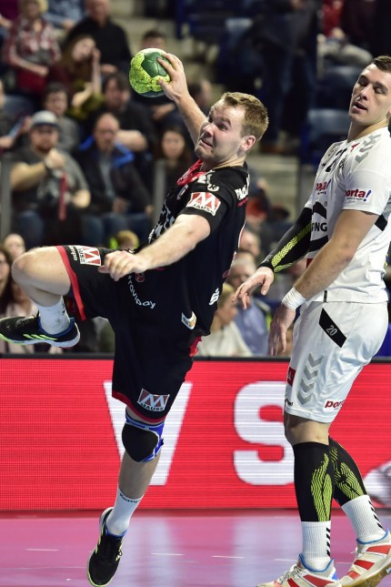 10 02 2019 Handball 1 Bundesliga DKB HBL Saison 2018 2019 20 Spieltag HC Erlangen Metropo