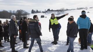 Bürgerinitiative Schutzgemeinschaft Ebersberger Osten, Ortsbegehung