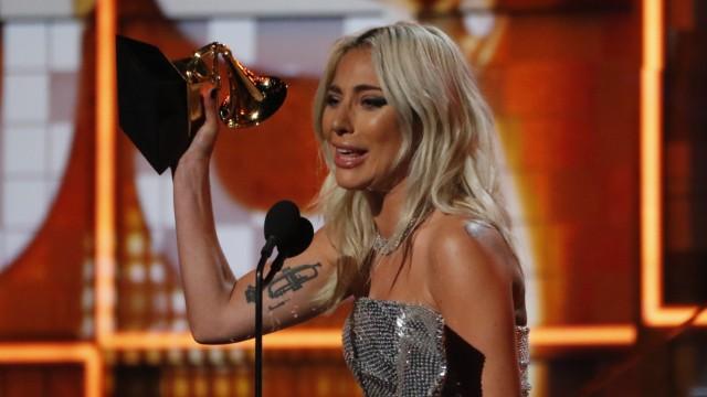 """Grammy Awards 2019 - Lady Gaga gewinnt einen Grammy in der Kategorie """"Best Pop Duo/Group Performance"""""""
