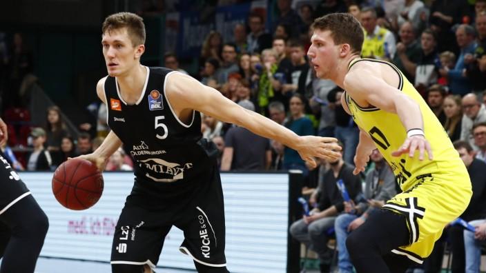 20 Spieltag der easyCredit BBL Basketball Bundesliga in der Oberfrankenhalle in Bayreuth Saison 201; Rasta Vechta