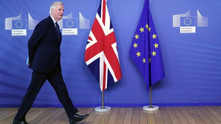 EU-Chefunterhändler Michael Barnier in Brüssel