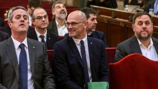 Prozess Katalonien Forn Romeva Junqueras