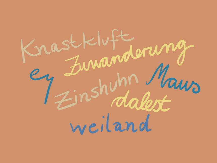 Deutsche Sprache Selten Verschwindet Ein Wort Ganz Kultur