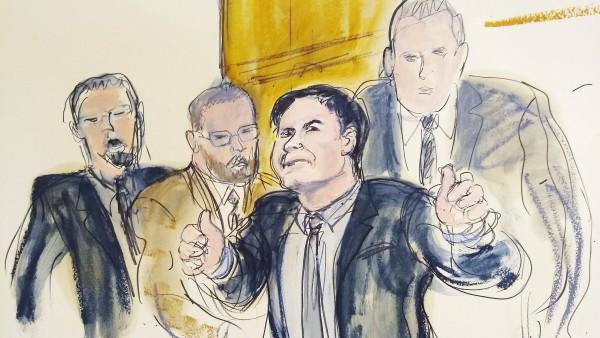 """Mexikanischer Drogenboss ´El Chapo"""" schuldig gesprochen"""
