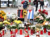 Chemnitz - Blumen am Tatort