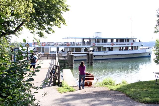 MS 'Bayern' auf dem Starnberger See
