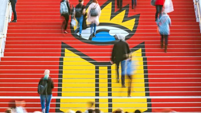 Leipziger Buchmesse 2018 Messebesucher auf der Leipziger Buchmesse am 15 03 2018 *** Leipzig Book