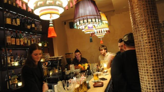 Bar Goldamsel im Glockenbachviertel