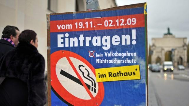 Nichtraucher-Kampagne in Bayern