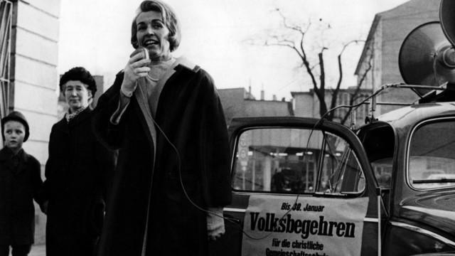 Hildegard Hamm-Brücher Volksbegehren 1967