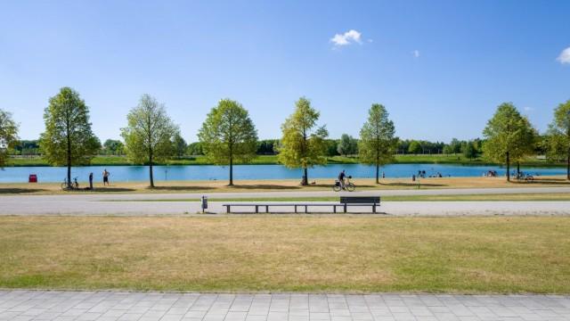 Riemer See in München, 2017