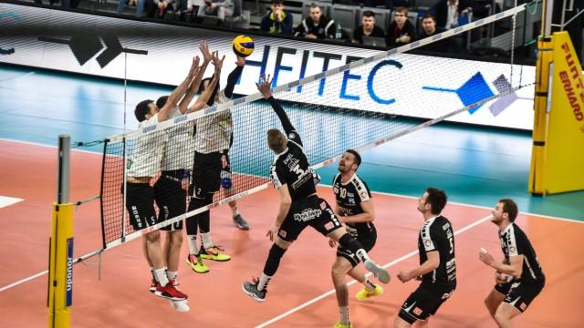 Deutschland Bamberg Brose Arena 09 02 2019 Volleyball 2 Bundesliga Brose Eltmann Heitec Vol