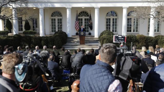 Trump kündigt Nationalen Notstand an