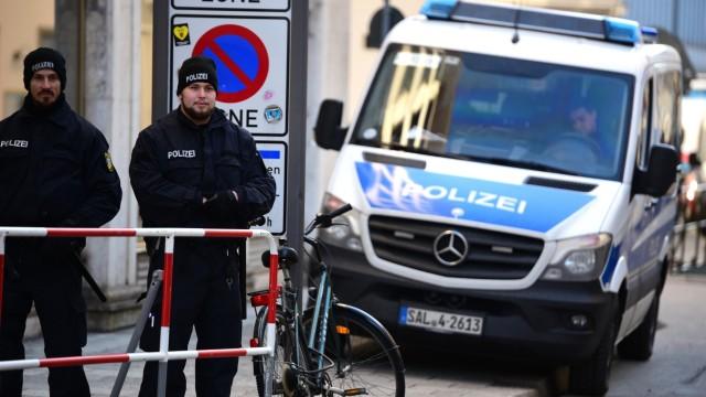 Polizei in München Sicherheitskonferenz