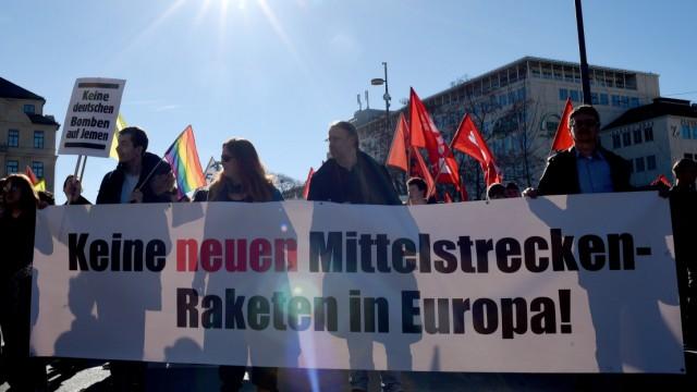 55. Münchner Sicherheitskonferenz - Demonstration