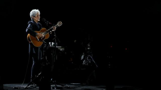 Joan Baez concert in Lisbon, Portugal - 01 Feb 2019