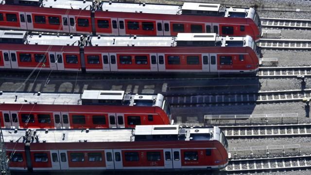 Süddeutsche Zeitung München Wartungsarbeiten am S-Bahn-Netz