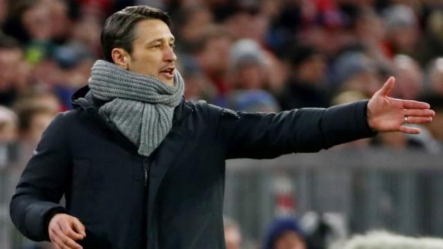FC Bayern - Trainer Niko Kovac beim Spiel gegen Schalke 04