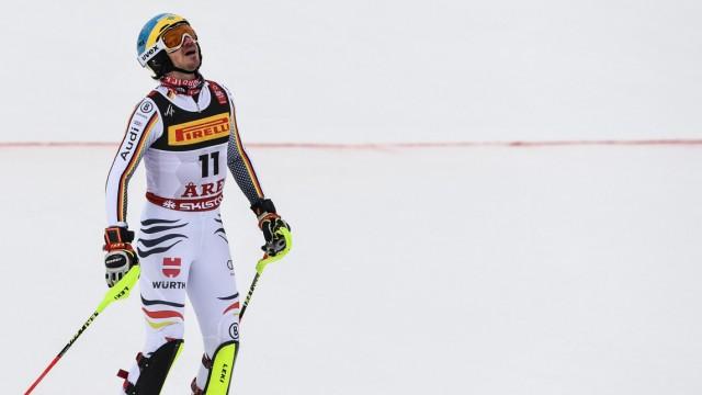 Wintersport Slalom bei der Ski-WM