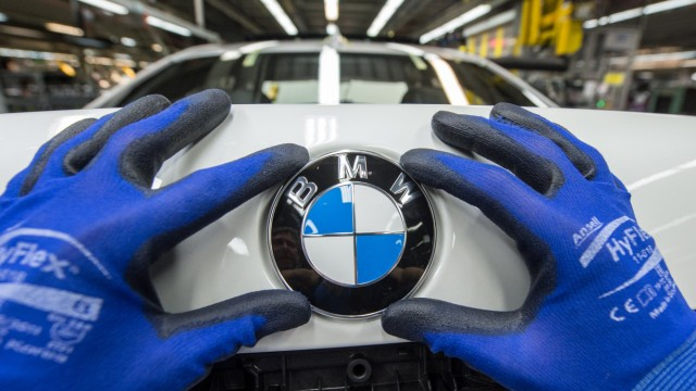 BMW-Produktion im Werk Dingolfing