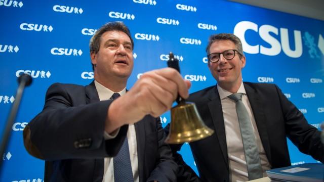Pressekonferenz zu CSU-Regionalkonferenzen