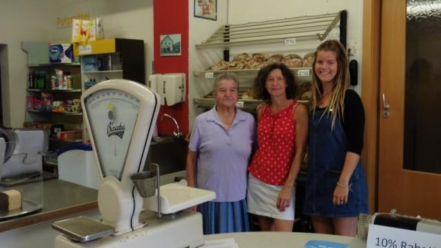 Rita Forstner, Bärbel Brunner und Luisa Brummer (von links nach rechts)