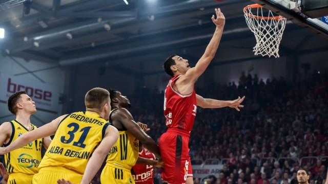 Deutschland Bamberg Brose Arena 17 02 2019 Basketball PokalFinale BBL Brose Bamberg vs AL
