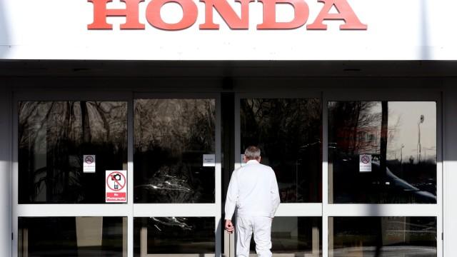FILE: Japanese Car maker Honda To Announce Closure Of Swindon Plant In 2022 800 Jobs Cut At Japanese Car Manufacturer Honda In Swindon