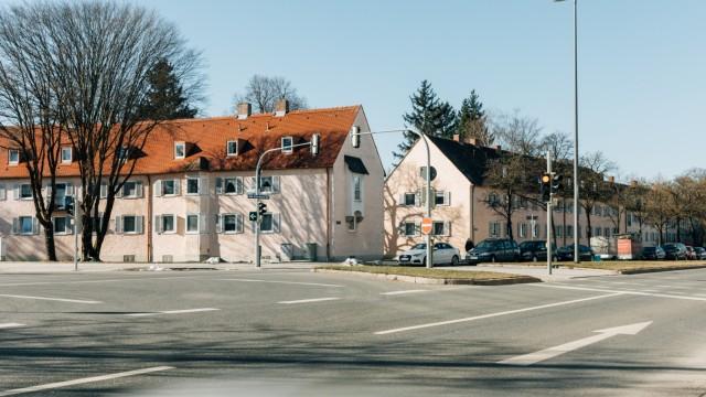 GWG-Umbauplanungen bezüglich der Haldensee-Siedlung, München, 18.02.2019.