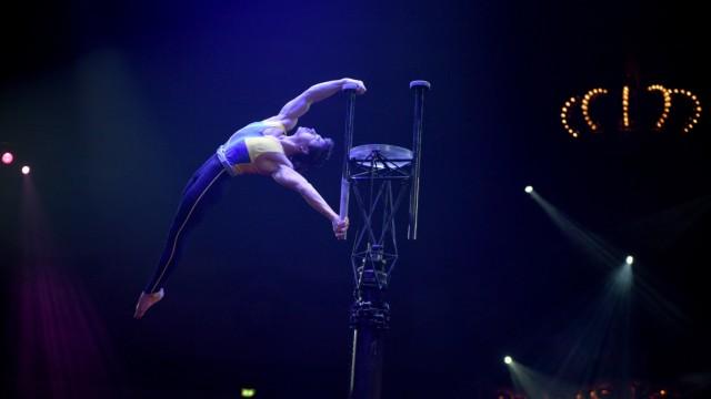 Yunwei Xing beim Circus Krone in München, 2019
