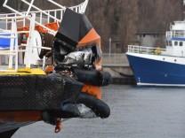 Schiffsunglück vor der Insel Rügen