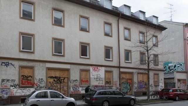 Leerstand München Geisterhäuser