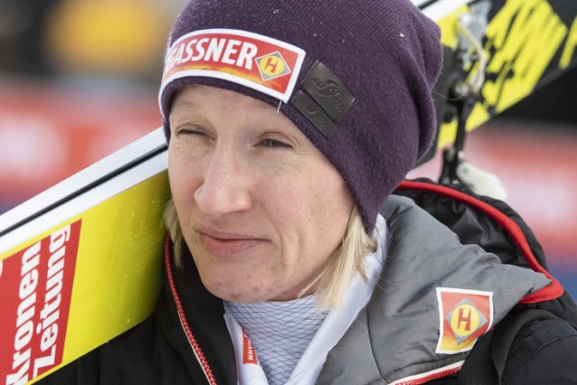 01 02 2019 Energie AG Skisprung Arena Hinzenbach AUT FIS Weltcup Ski Sprung Damen Qualifikati