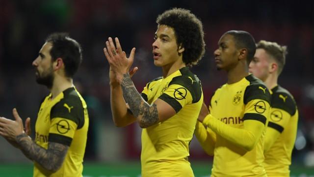 Borussia Dortmund - BVB-Spieler nach dem Bundesliga-Spiel gegen den 1. FC Nürnberg
