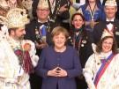 """Merkel: """"Karneval in bester Verfassung"""" (Vorschaubild)"""