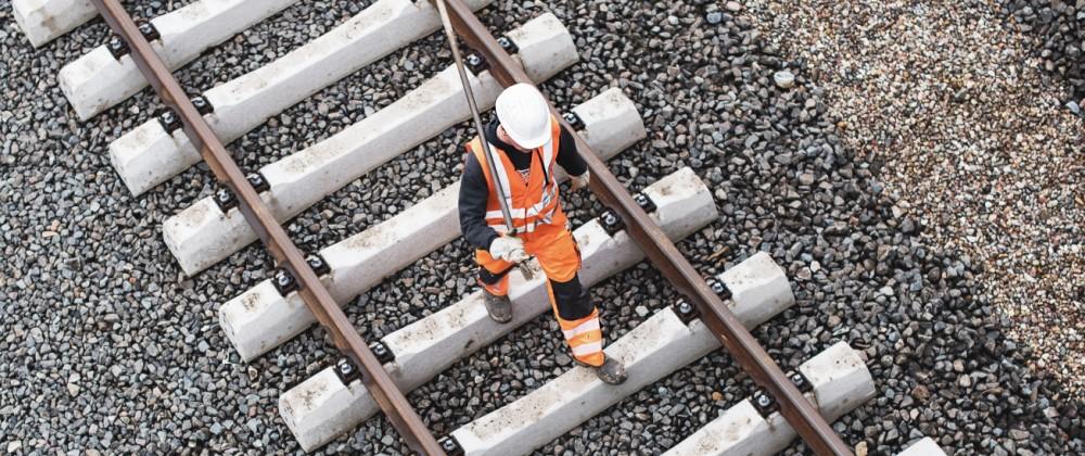 Bahn-Baustelle