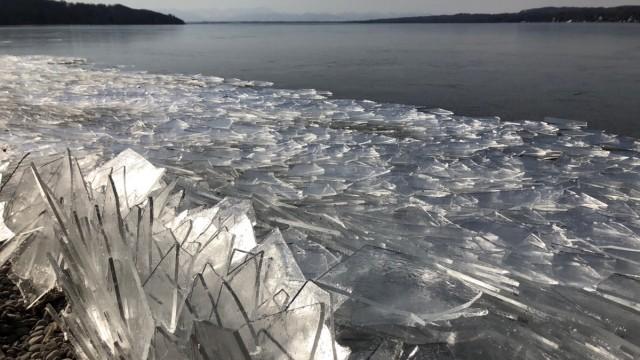 Starnberger See Winter