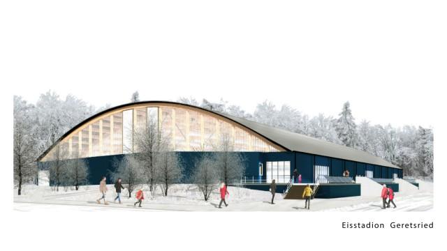 Eisstadion Sitzung des Stadtrats