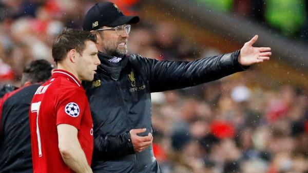 Champions League: Jürgen Klopp wechselt beim Spiel FC Liverpool gegen Bayern München
