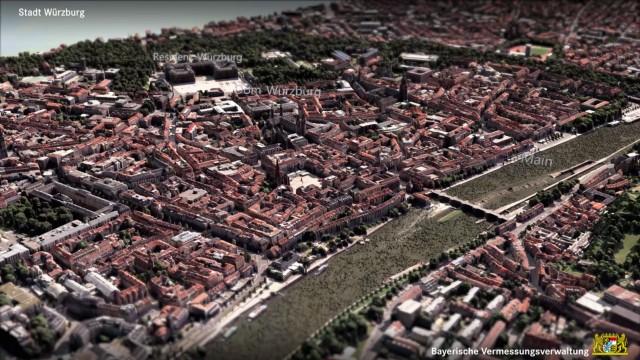 Wuerzburg 3D Grafik