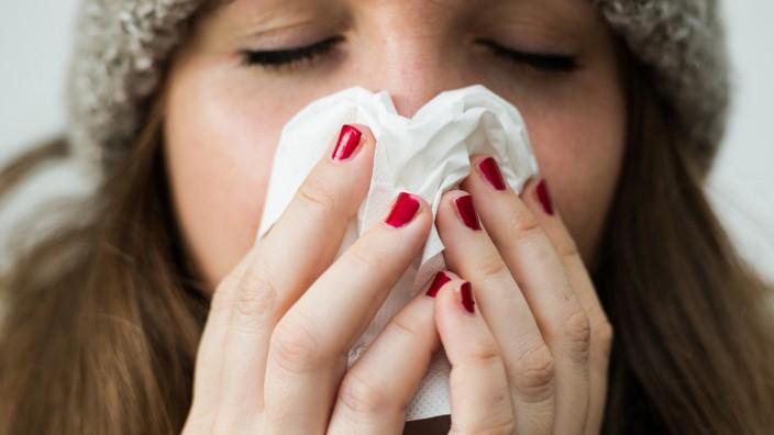 Grippe in Bayern